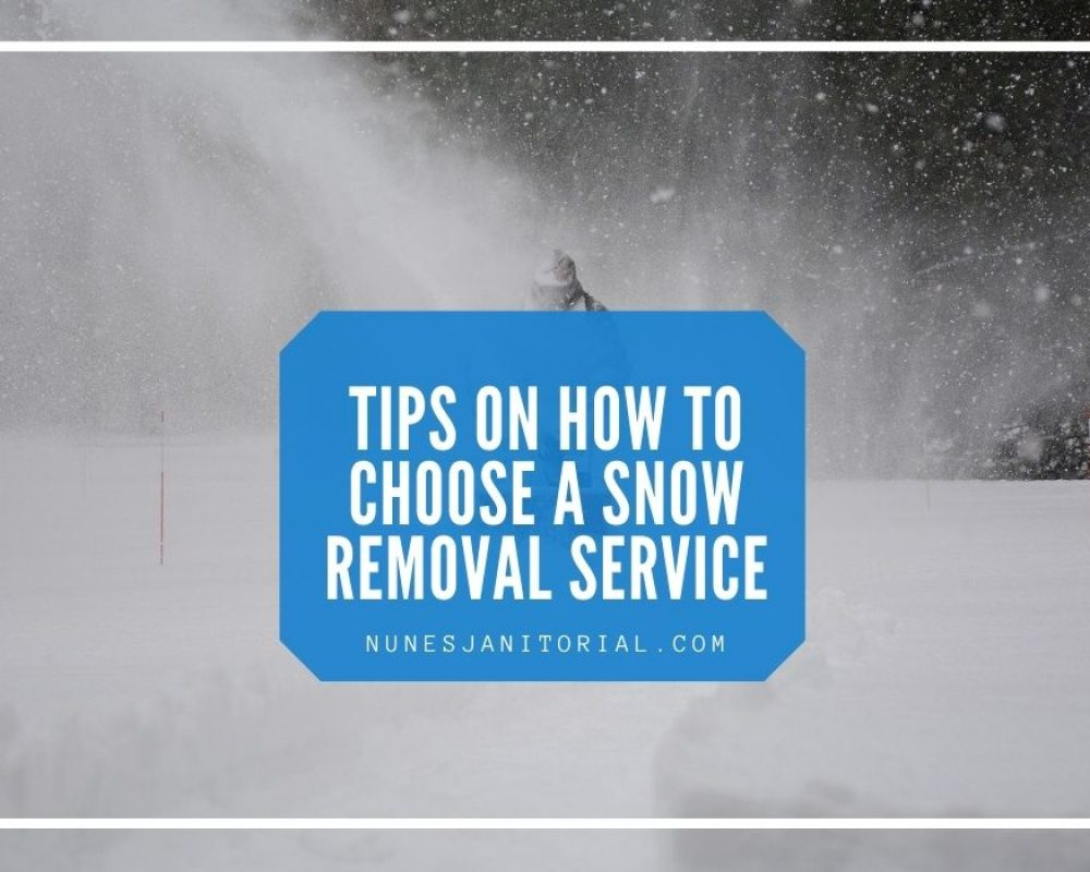 Tips on How to Choose a Snow Removal Service